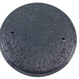 B125 Circular Manhole Cover